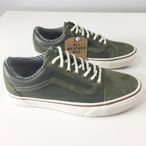 905b941c48 Vans Old Skool MTE Grape leaf Marshmallow Sz 8